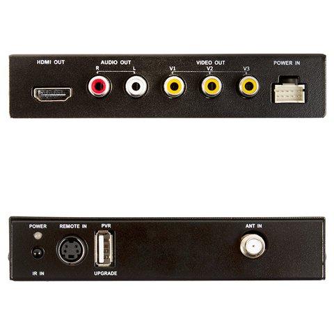 Автомобильный цифровой тюнер DVB-T2 с функцией записи Превью 1
