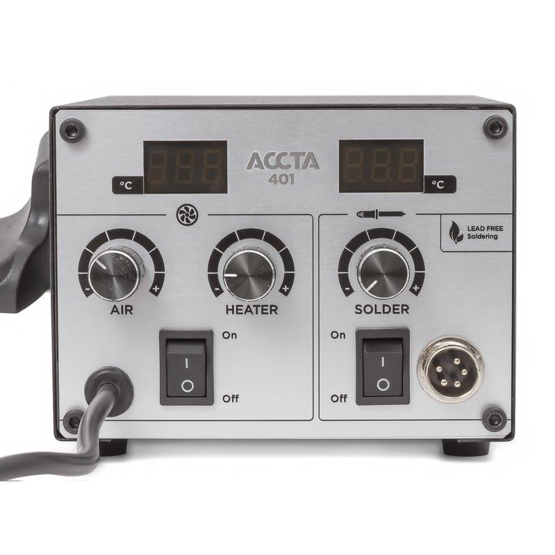Термоповітряна паяльна станція Accta 401 Зображення 13