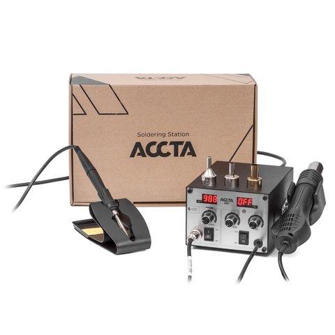 Термоповітряна паяльна станція Accta 401L Прев'ю 13