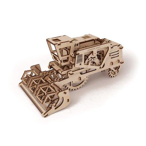 Механічний 3D-пазл UGEARS Комбайн - /*Photo|product*/