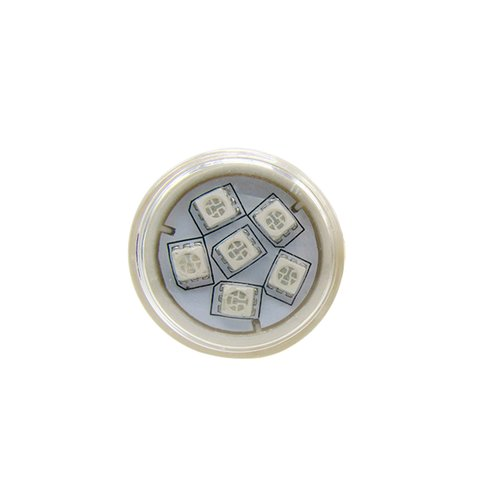 Round LED Module Kit (full color, 6 SMD5050 LEDs, 38 mm, IP67, 20 pcs.) Preview 2